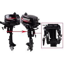 6 hp 2 stroke outboard motor short shaft fishing boat engine water