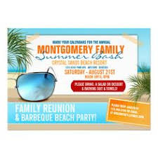 watermelon slice family reunion invitations by reflections06