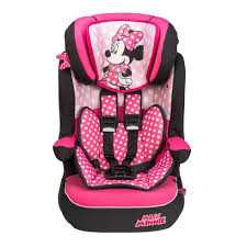 imax deluxe disney minnie mouse group 1 2 3 car seat pink group