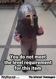 Funny Gaming Memes - when you don t meet the level requirement funny gaming meme pmslweb