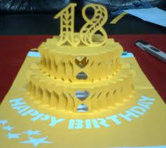 birthday cake pop up card tutorial 100 images birthday cake