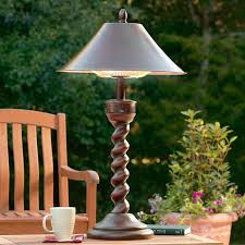 Patio Table Lights Weather Resistant Outdoor Heater Disguised As A Handsome Table