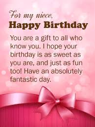 birthday cards for niece you are a gift happy birthday wishes card for niece birthday