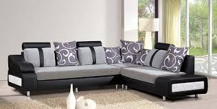 Interesting  Black Living Room Ideas With A Black Corner Sofa - Corner sofa design