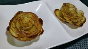 cuisiner la pomme roses de pommes de terre toc cuisine fr