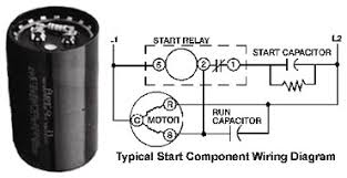 tecumseh high torque start components start capacitor