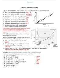 What Is 1 75 Bath by A 2 Heat Curves Phase Diagram Worksheet Key
