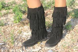 falling for fringe boots from rack room shoes momtrends