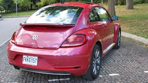 pink volkswagen beetle for sale 2017 volkswagen beetle coupe pinkbeetle test drive review