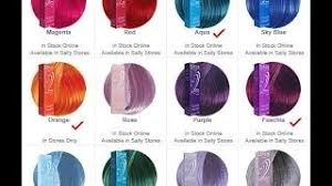 ion haircolor pucs ion semi permanent hair color chart ion color brilliance semi