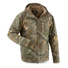 guide gear men u0027s insulated silent adrenaline hunting jacket