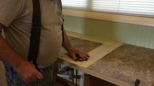cutting countertop for sink kitchen counter top 4 cutting out the sink hole youtube