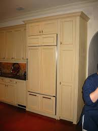 fridge that looks like cabinets cabinet panel refrigerator youngauthors info