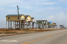 Beach House In Galveston Tx Elevetated Homes Remain Stading On The Beach In Texas Fema Gov