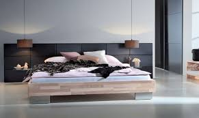 bedroom dark wood platform bed mid century platform bed