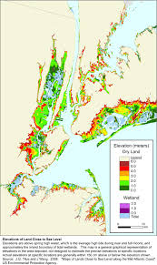 Metro Ny Map by More Sea Level Rise Maps For New York State