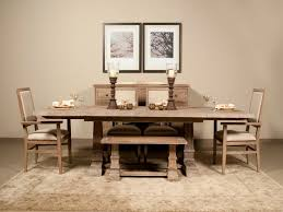 Fascinating Dining Room Table Set With Bench Epic Dining Room - Dining room table with bench