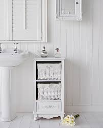 rose free standing bathroom cabinet white cottage bathroom