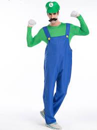 Halloween Costumes Luigi Costume Super Mario Brothers Mario Luigi Costumes