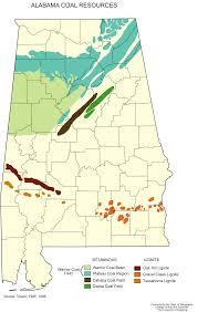 Map Alabama Alabama Coal Resources U2022 Mapsof Net