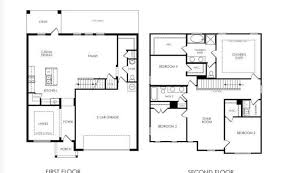 two home floor plans the 17 best two 4 bedroom house plans building plans