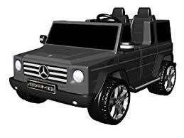 mercedes g class all black amazon com national products 12v black mercedes g class