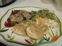 dinner with the grobmyers country fried steak and gravy