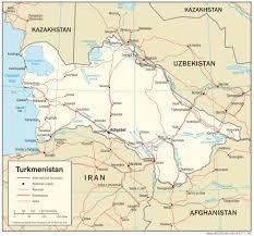 Tajikistan Map Turkmenistan Maps Perry Castañeda Map Collection Ut Library Online