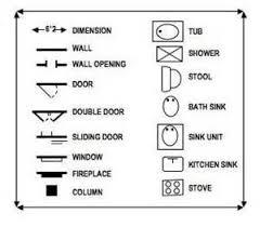 Kitchen Symbols For Floor Plans 34 Best Drawing Interior Images On Pinterest Cad Blocks