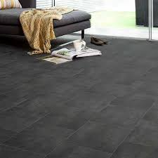ecostep black slate tile 589 cushioned vinyl flooring factory