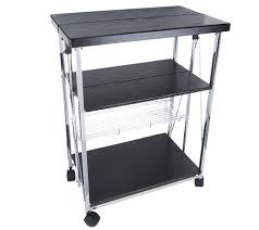 Folding Kitchen Cart by Foldable 4 Tier Kitchen Entertainment Cart And Server Page 1