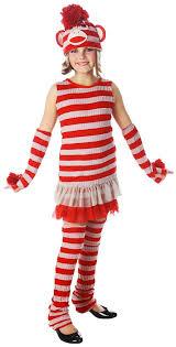 Monkey Halloween Costumes Tween Sock Monkey Girls Costume Costume Craze