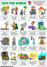 environment esl printable worksheets and exercises