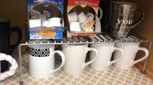 Kitchen Organization Cabinets Kitchen Organization Cabinets And Coffee Bar Organization Youtube