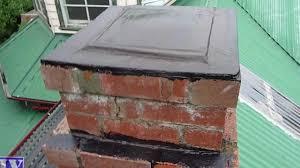 seal u0026 waterproof concrete u0026 brick chimney with liquid rubber mp4