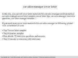 car salesman resume auto sales resume car sales resume exles description