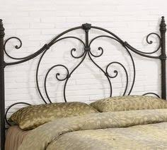 Wrought Iron Headboard Full by Interesting Iron Headboard King With 2 Cushions Headboards