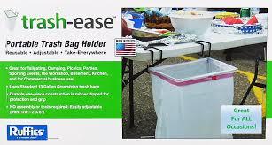 Diy Portable Camp Kitchen by Amazon Com Trash Ease 13 Gallon Portable Trash Bag Holder Home