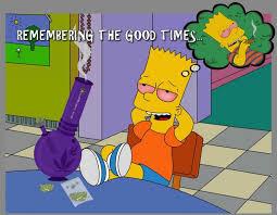 Bart Simpson Meme - bart simpson high af remembering high af times cartoon weed meme