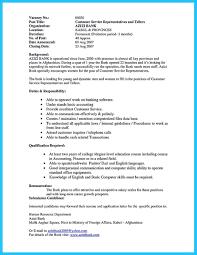 customer service representative sample resume sample resume for banking operations free resume example and sample resume for banking operations in india