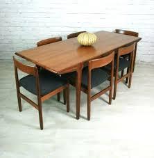 mid century dining table diy set danish round room los angeles and
