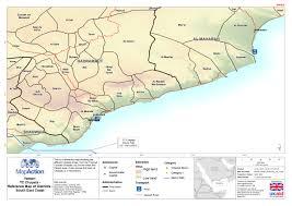 Map Of Yemen Cyclone Chapala Yemen November 2015 Mapaction