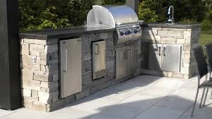 fabriquer cuisine exterieure construire une cuisine d t excellent fabriquer ilot central ete