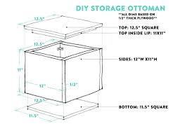 diy tutorial how to make a diy storage ottoman u2013 part 1 capitol