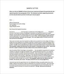 example of appeal letter download appeal letter sample for