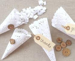 Favor Cones by 30 Diy Doily Crafts Paper Doilies Confetti And Paper Cones