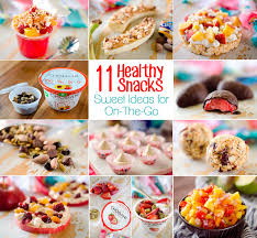 11 healthy snack ideas treats for on the go
