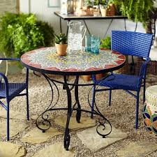 Pier 1 Kitchen Table by Emilio Mosaic Dining Table Pier 1 Imports