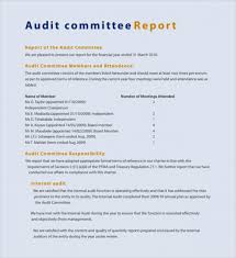sample committee report template 8 free documents download in