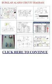 burglar alarm circuit diagram burglar alarm circuit diagram